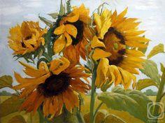 Oil painting by Maria Pavlova Stanislavovna