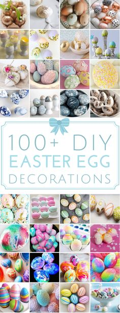 100 DIY Easter Egg D
