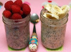 Overnight #Oatmeal in Mason Jars