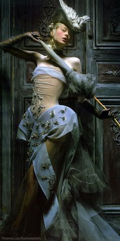 John Galliano for Christian Dior - Haute Couture - Fall Winter 2005 #dress