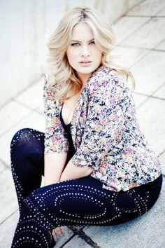 Plus size model Sophie Sheppard