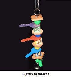 Freshman Key Parakeet Toy