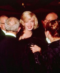 Marilyn Monroe attends the Actor's Studio Benefit, Roseland Dance Hall, NYC, March 13th 1961