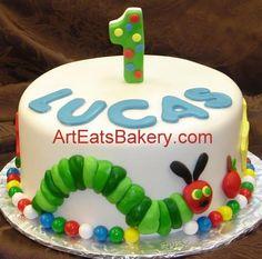 hungry caterpillar cake