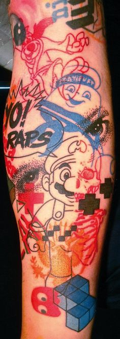 Jef Palumbo Tattoos