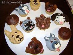 Pupcakes: Cupcakes That Look Like Dogs!
