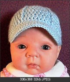 cute baby hat pattern :)
