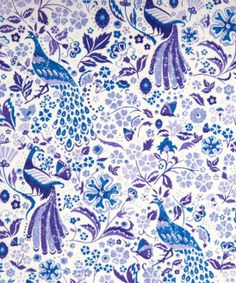 Liberty Art Fabrics Juno's Garden D Tana Lawn