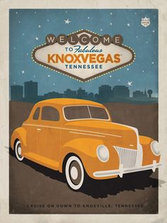 Cruise on down to Knoxville, TN