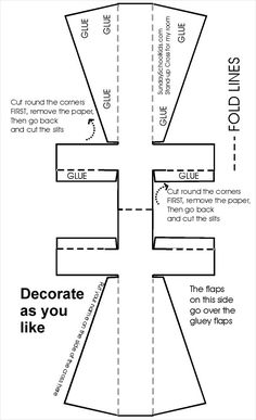 idea for when teaching about the crucifixion