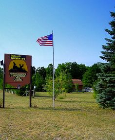 Clementz's Northcountry Campground & Cabins at Newberry, Michigan