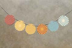 These would be the perfect addition to a circus nursery. #SocialCircus
