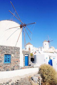The Windmills of Oia, Santorini