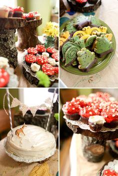 DIY Woodland Themed Birthday Party