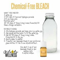 chemical free bleach