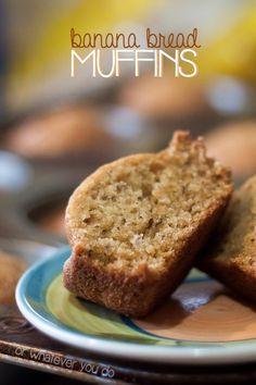 Banana Bread Muffin Pinterest
