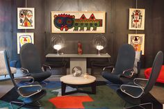 modernist interior art furnishings furniture