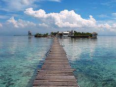 Island hopping near Mactan Island. Cebu. Philippines.