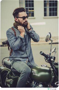 Babe on a bike |