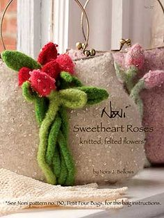 felt flowers purs, felt bag, bag design, felt flower, felt handbag, felted bags