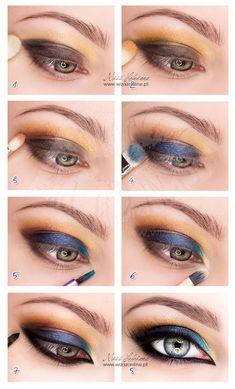 Egzotyczny makijaż: multikolor na koniec lata!   Wizaż Online