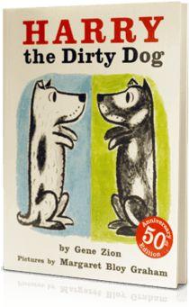 Harry the Dirty Dog, Written by: Gene Zion | Read by: Betty White. http://www.storylineonline.net/harry-the-dirty-dog/