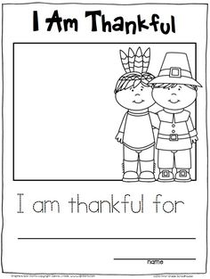 Thanksgiving Writing for Kinders. Kindergarten writing activities for the Thanksgiving season.