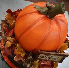 fall cupcak, thanksgiving cakes, cake wedding, wedding cakes, cake cake, thanksgiv cake, birthday cakes