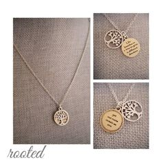 """Rooted necklace - """"Like branches on a tree we grow in different directions, yet our roots remain as one."""" #PremierDesigns Jewelry"""