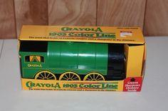 Crayola train
