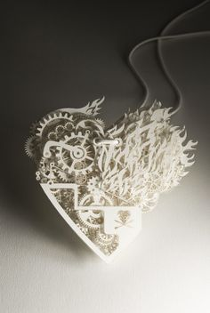 Bling Bling pendant designed by Tjep   paper