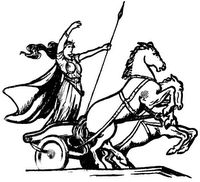 Boadicea..Queen of the Iceni  This woman took on the Romans......more needs to be said about her!