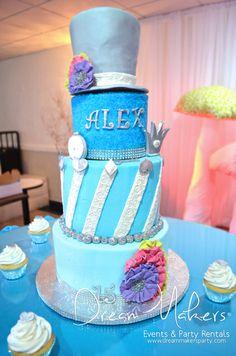 Alice in Wonderland Quinceañera Party Ideas |The Cake