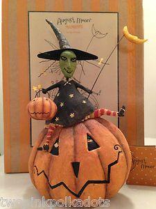 Lang August Moon Moonbeams Dan DiPaolo Pumpkin Patch Trixie   eBay