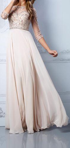 Blush gown / Terani