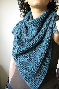 Free scarf pattern... one hank Persia