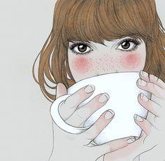 me encantaron estas ilustraciones *---*