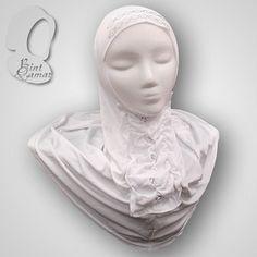 Dazzling Snow White Hijab