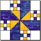 quilt block, lake, quilt idea