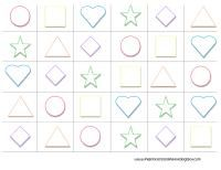 Lots of printables for toddler learning