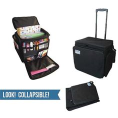 GoGo Crafter - Rolling Tote - 200 Series at Scrapbook.com