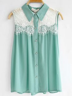 #lace and teal  women fashion #2dayslook #new #fashion #nice  www.2dayslook.com