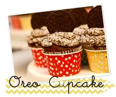 Oreo, Strawberry, Red Velvet, Carrot, and Chocolate cupcake recipes.