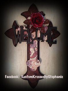 Welcome Wall Cross