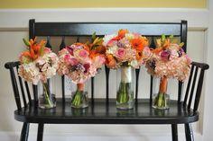 fun color, wedding bouquets, bouquet design, interest bouquet