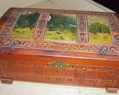 Vintage Jewelry Box             Mothers day  Shabby Chic