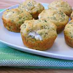 Herbed Goat Cheese Muffins   Alida's Kitchen