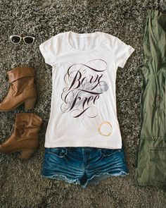 """The """"Oatmeal"""" short sleeve. 