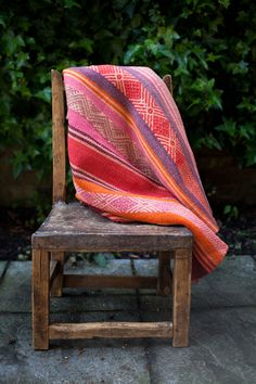 chair, blanket, textil, design