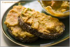 Yellow Split Pea Spread or Dip